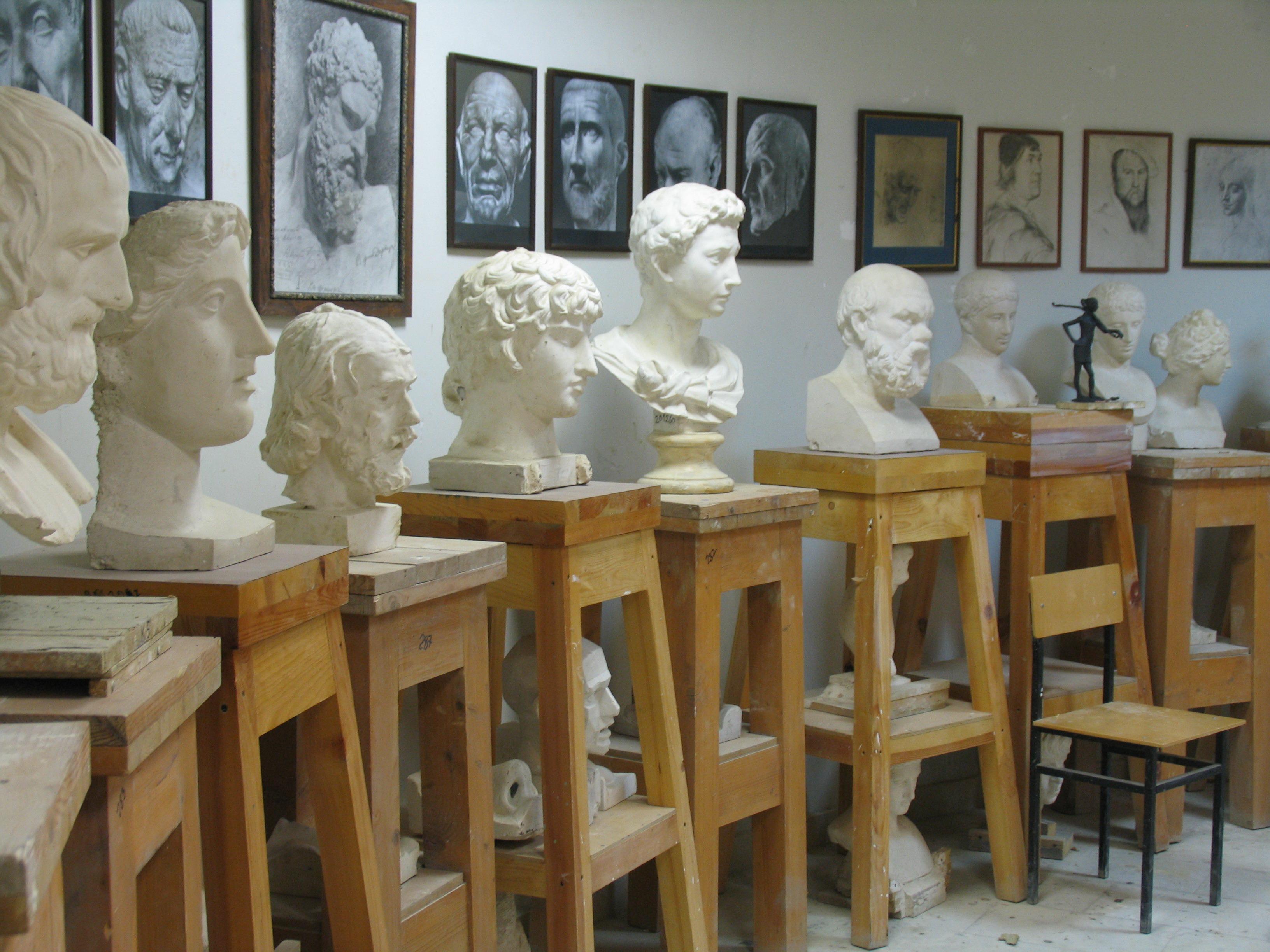 Факультет скульптуры Российская академия живописи ваяния и  РАБОТЫ СТУДЕНТОВ ФАКУЛЬТЕТА